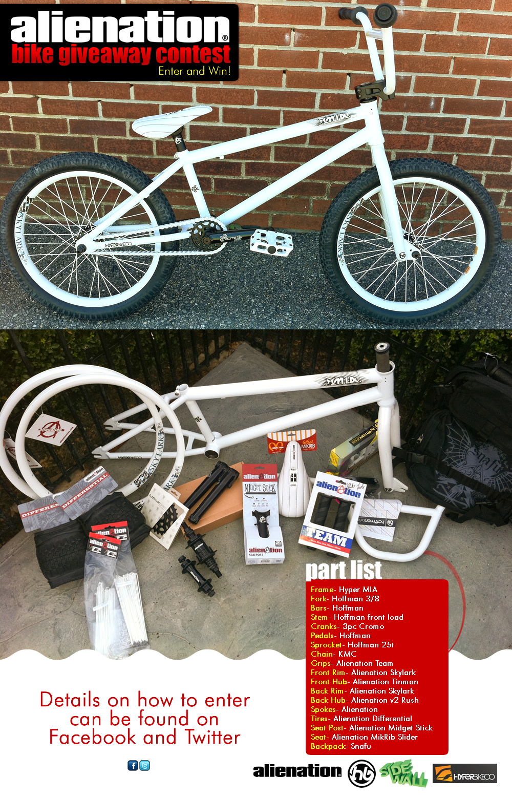 Complete BMX Bike Giveaway